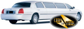 Limo Hire Baxley - Cars for Stars (York) offering white, silver, black and vanilla white limos for hire