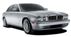 Chauffeur driven cars in York area, including the long wheel based version of the new Jaguar XJ