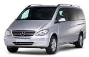 Chauffeur driven Mercedes Viano people carrier - Up to 7 passengers in comfort, from Cars for Stars (York)